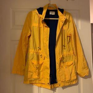 Market & Spruce Small Yellow Rain Jacket